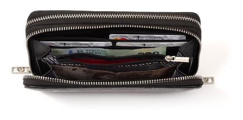 escoge tu cartera cloe original mujer de color con monedero