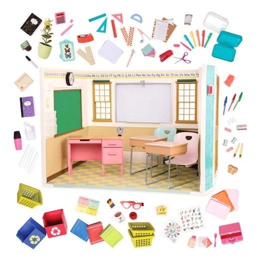 Escola Da Boneca Original Our Generation 174 School Room R