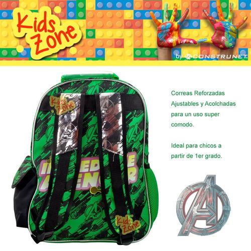 escolar avengers mochila