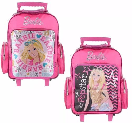 escolar barbie mochila