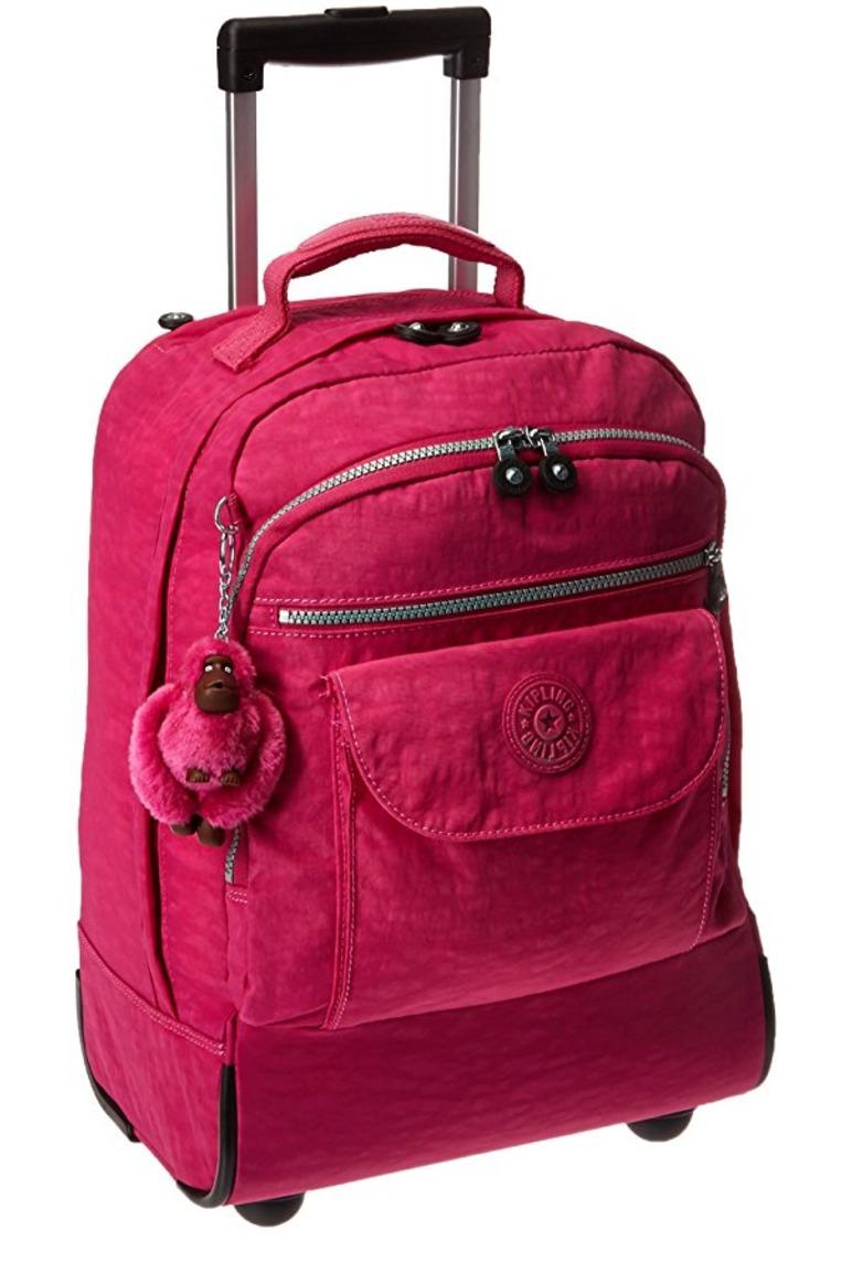 74a418d10 Carregando zoom... mochila escolar kipling sanaa rodinha-original eua