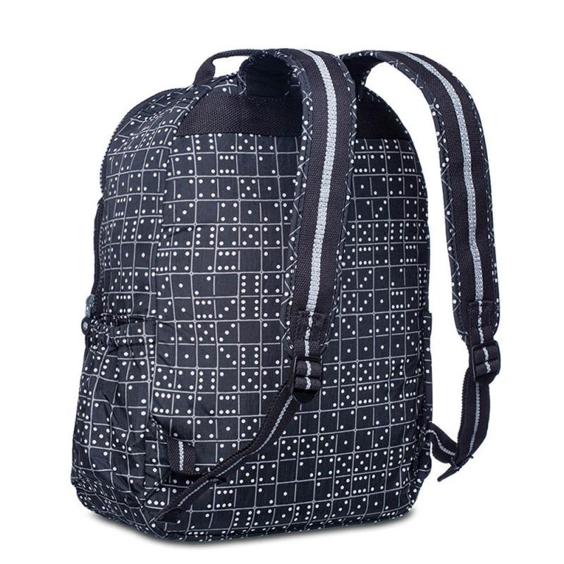 ac3872bd2 Mochila Escolar Seoul Up Preta Black Matrice Kipling - R$ 699,00 em ...