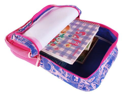 90c64329f escolar menina mochila. Carregando zoom... mochila escolar infantil menina  barbie rosa sestini g