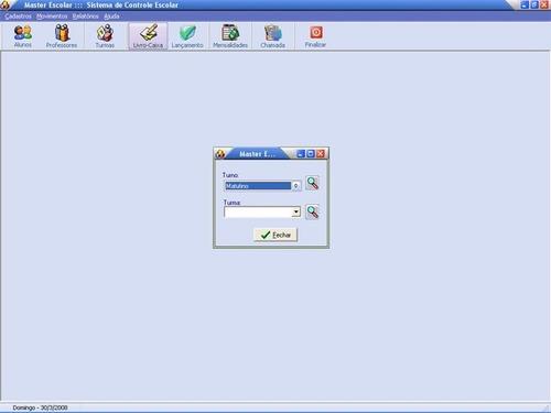escolar - sistema de controle escolar c/ fontes delphi