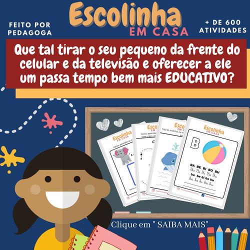 escolinha em casa - atividades para educação infantil