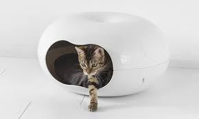 escondite para gatos tipo dona medidas: 49cmx49cmx27cm