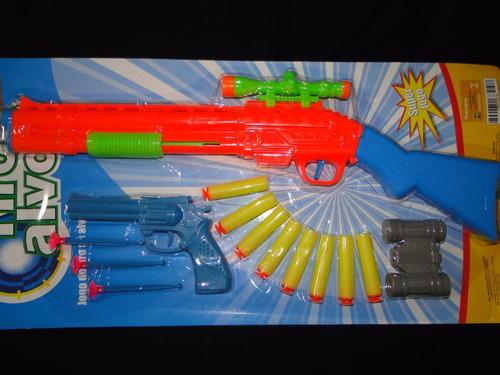 escopeta 55cm revolver pistola fuzil metralhadora nerf alvo