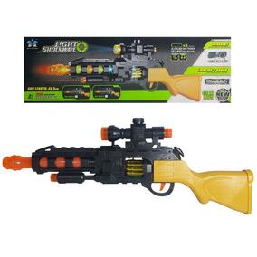 Laser Escopeta Luz Mira Y Con Sonido Arma Pistola Juguet H2D9IWEY