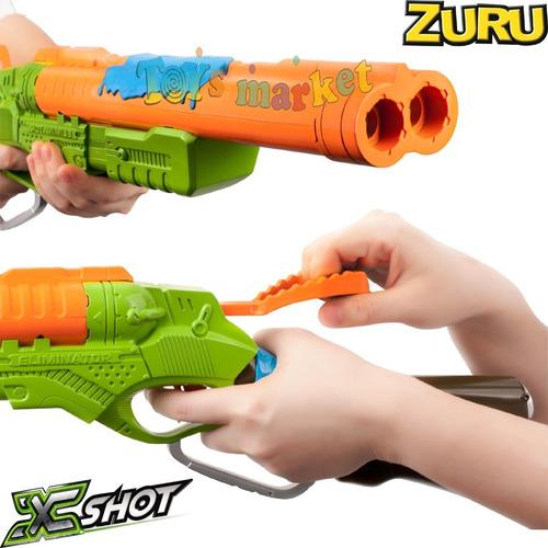 escopeta lanza dardos 17m eliminator xshot bug attack zuru