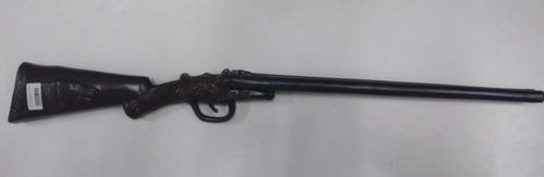 escopeta plastica doble caño juguete cotillon disfraz