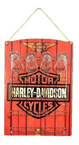 escorredor de copos harley davidson