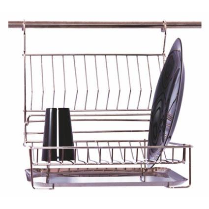 escorredor de pratos basculante 12 pratos inox jomer - 3020