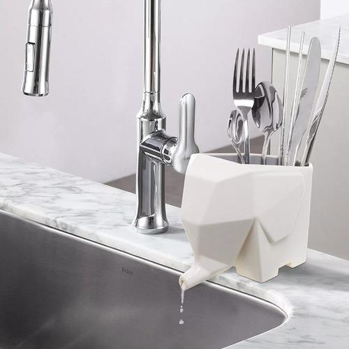 escorredor de talheres elefante vaso e porta escovas pronta entrega