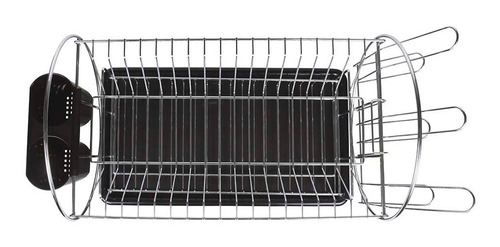 escorredor louças preto 2 andares 19 pratos mor full