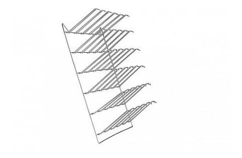 escorredor suporte parede para 24 copos 35cm x 46cm ref 5555