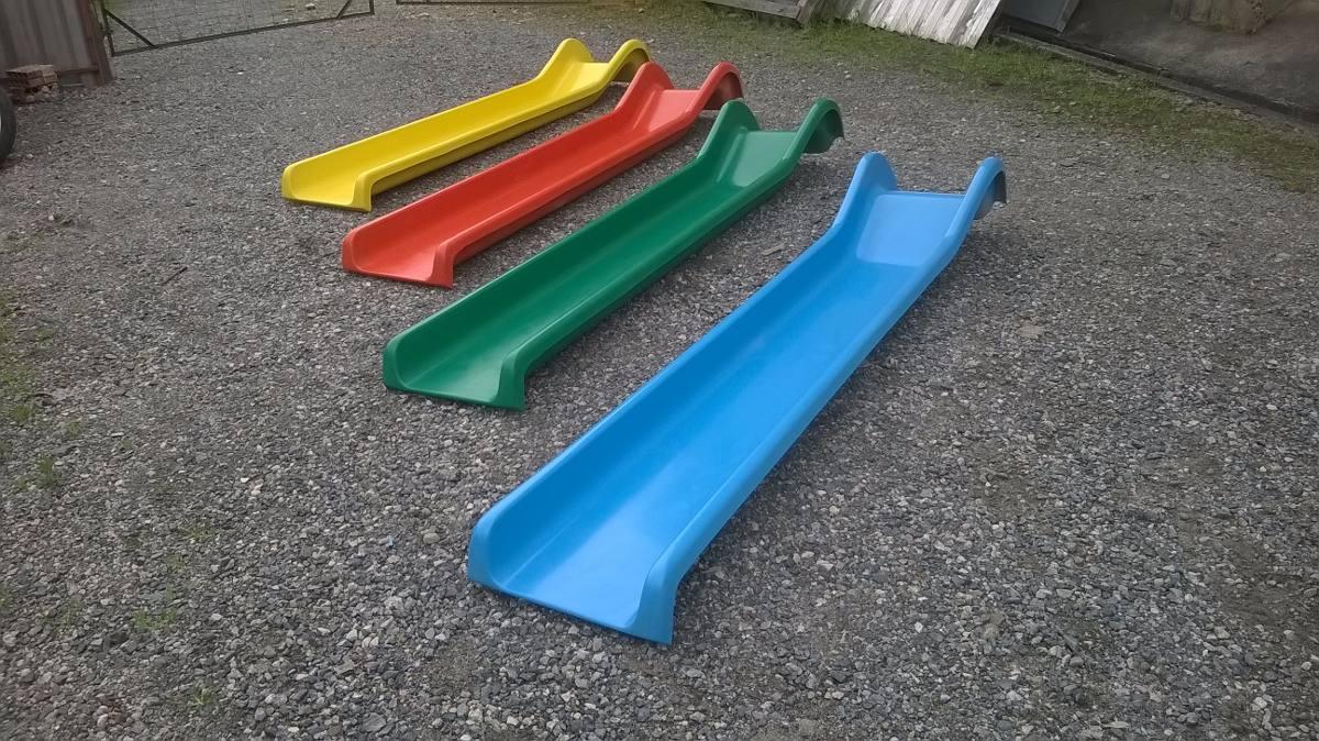 Escorregador De 2 50 Metros Para Playground Em Fibra R 639 00 Em