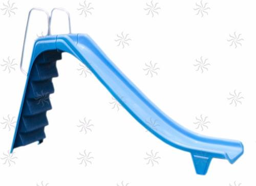 escorregador de fibra para piscina 2,70 pista saída água