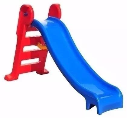 escorregador infantil playground médio foto real do produto