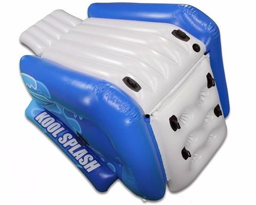 escorregador inflável gigante intex piscina reforçado