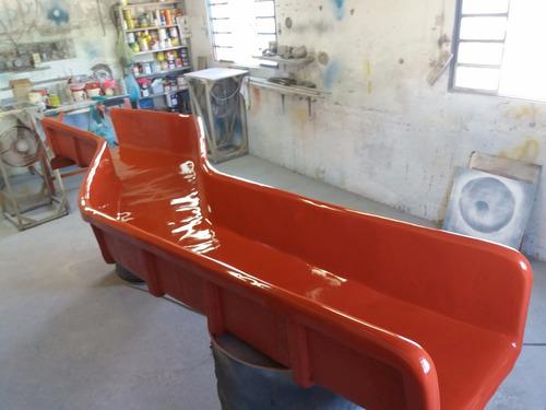 escorregador p/ buffet infátil piscinas em fibra de vidro