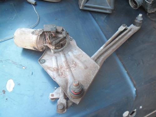 escort antigo - sistema do limpador de parabrisa com motor