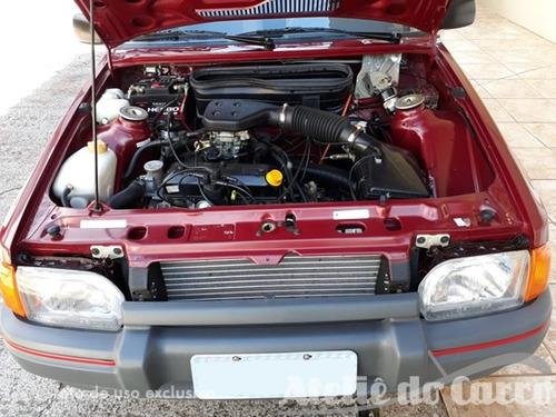 escort hobby 1.0 95 com 865 km vendido ateliê do carro