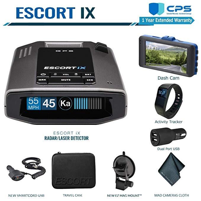 Escort Ix Long Range Radar Detector, Con Live App Voice Al ®