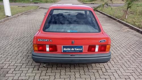escort l 1988 u dona 75000 km- frete grátis* ateliê do carro