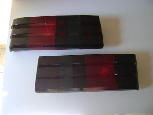 escort - lanterna traseira fumê original ford (par) (novas)