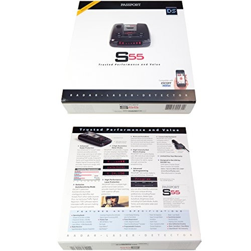escort passport s55 alta performance pro radar y detector lá