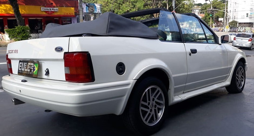escort xr3 1.8 / 1.6 conversível 1992 completo+rodas +alarme