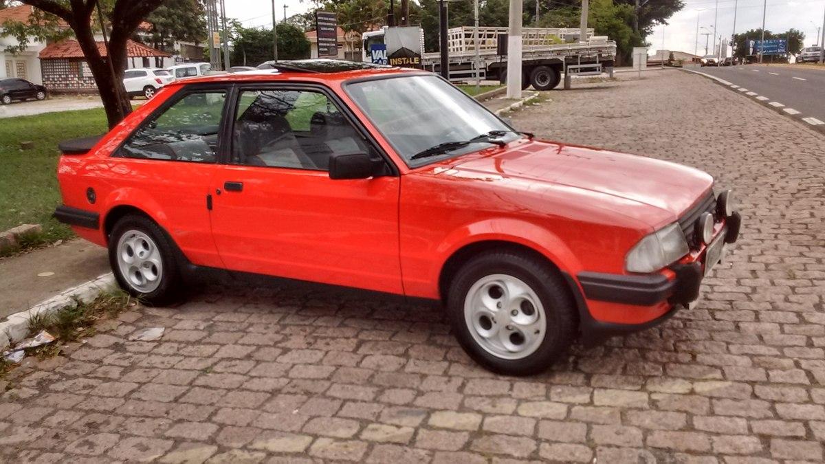 Buscar Carros Baratos >> Escort Xr3 1984 Placa Preta Newcar - R$ 45.000 em Mercado ...