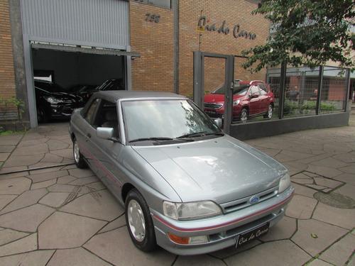 escort xr3 1993, conversível, completo
