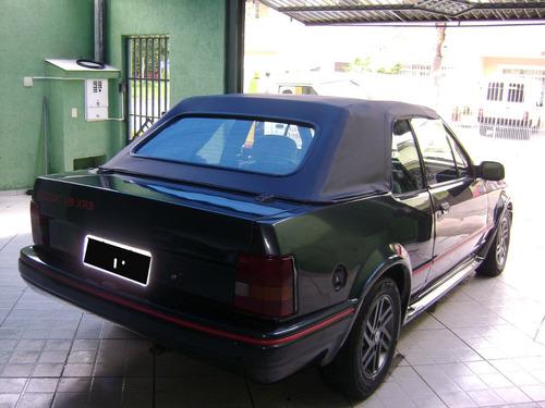 escort xr3 conversível 1989 1.8 alcool