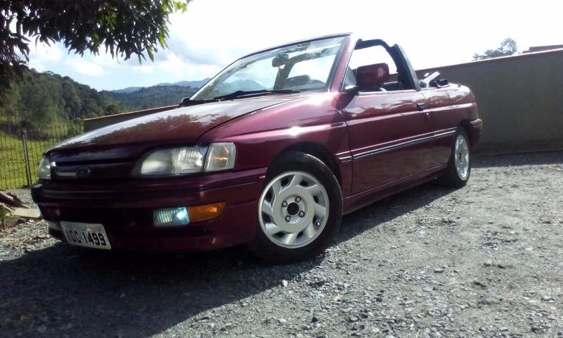 escort xr3 conversível 1995/1995