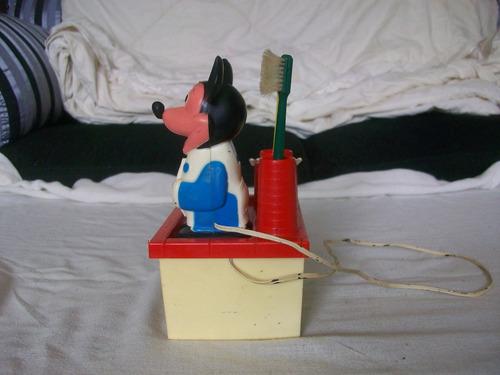 escova a pilha mickey colecionador
