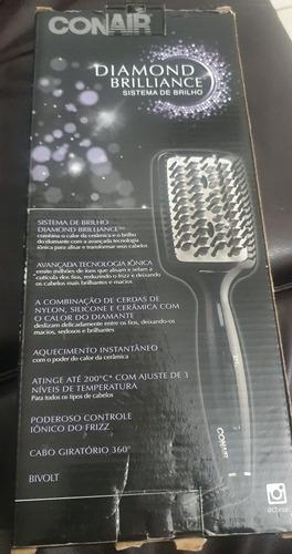 escova alisadora diamond brilliance