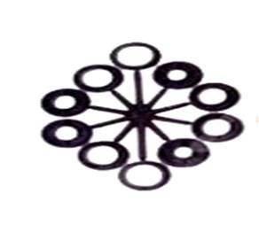 escova de aço circular - brasfort diâmetro: 6'' altura 18mm