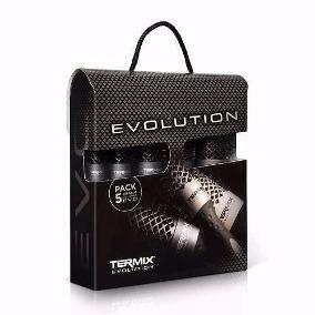 escova de cabelo termix evolution caixa (05 unid ) + brinde