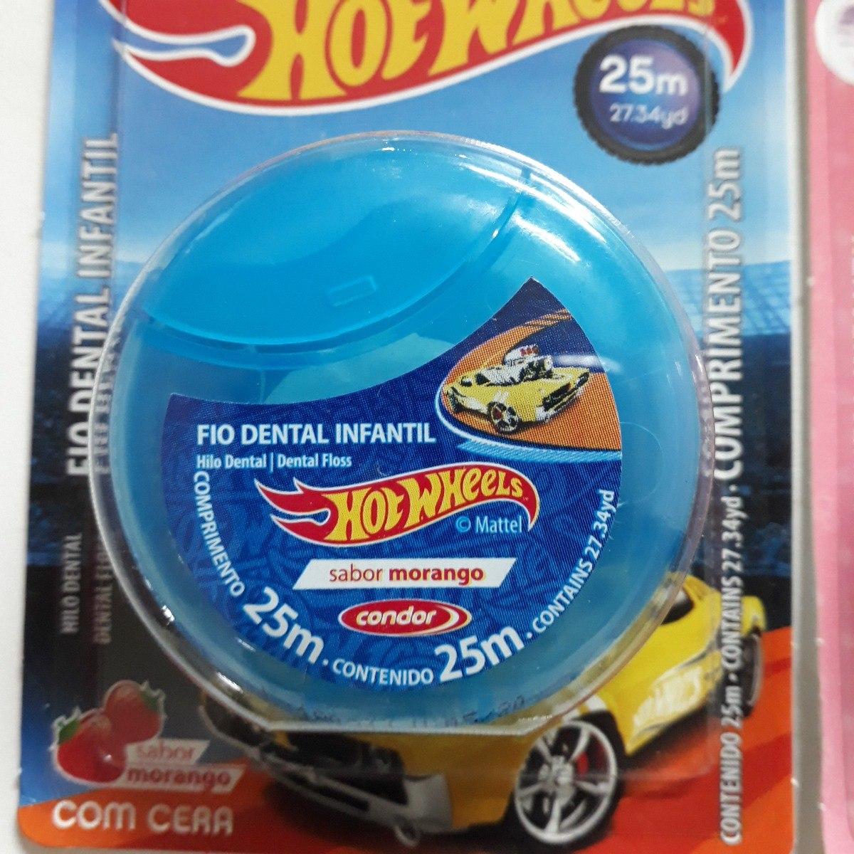 210f19b96 escova de dente + fio dental hotwheels condor. Carregando zoom.