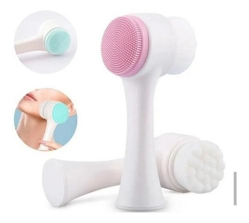 escova de limpeza facial massageador pele e corporal banho