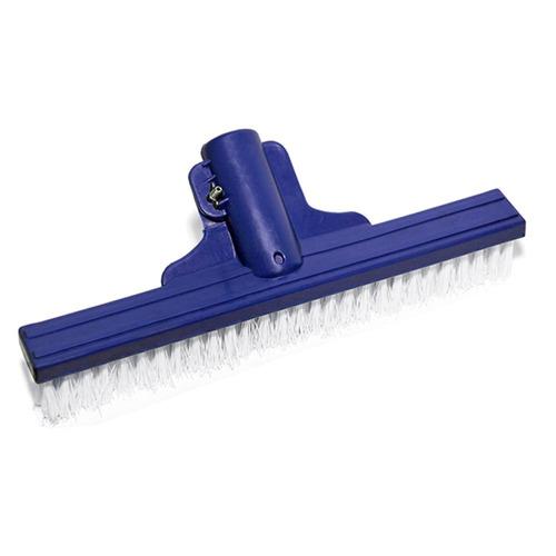 escova de nylon reta 35cm para limpeza de piscinas