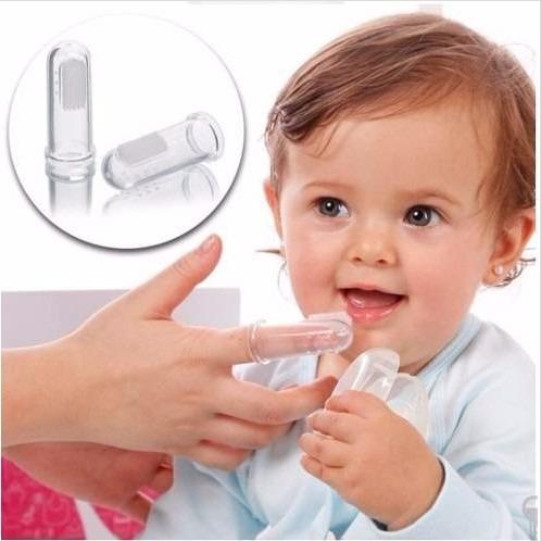 Escova Dental Dedeira De Silicone Para Beb 234 2 Unidades