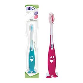 Escova Dental Infantil Extra Macia 1-5 Anos Lillo C/ Ventosa