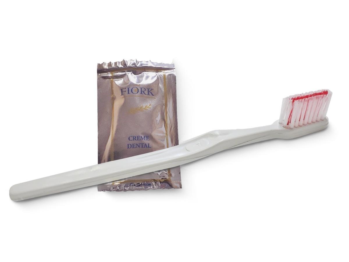 Escova Dental Simples Creme Dental 3g Cx C 190 Unidades R 74