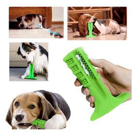 Escova Dentes Mordedor Canina Cachorro Cao Pet Limpeza Bucal
