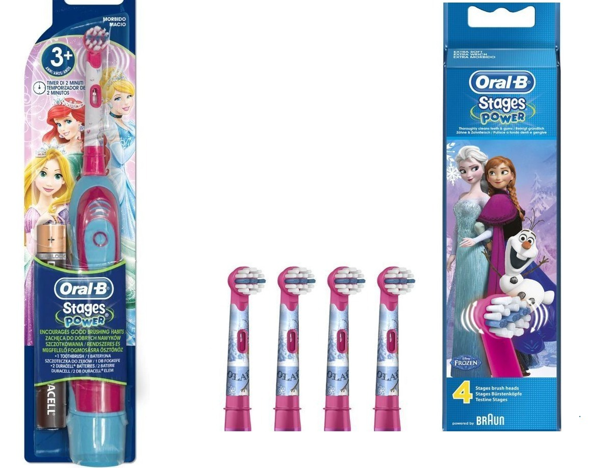 escova eletrica infantil oral b princesas disney c  4 refils. Carregando  zoom. 8c3376fca767