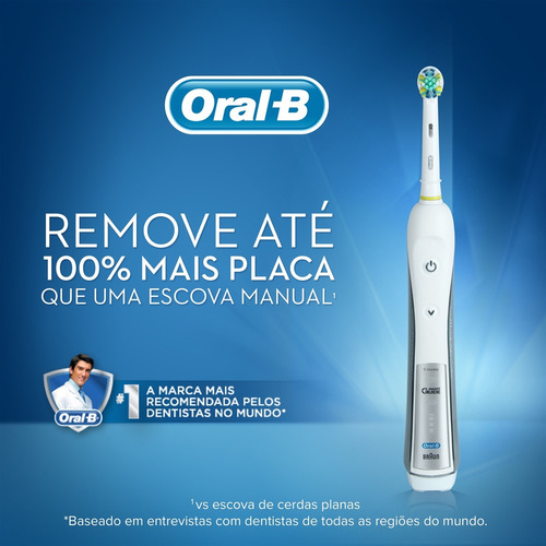 escova elétrica oral-b professional care 5000 d34