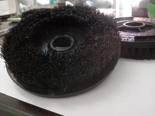 escova enceradeira electrolux 3 escovas-pinos redondos+feltr