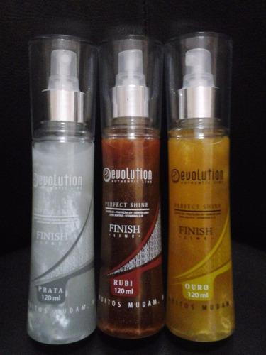 escova indiana evolution + 1un brilho 120ml (brinde)